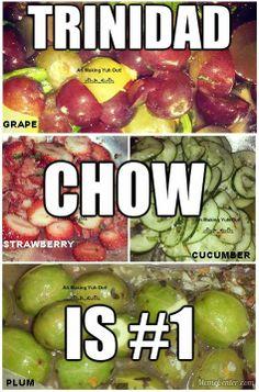 #trinidad #chow #food #trinifood