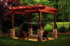 These sheds projects add a natural feel to your surroundings, making your place alluring, extra-ordinary and grand. Cherish every moment of your life while having wonderful time under this garden pergola.  #pergola #pergolaideas #pergoladesign #pergolaplan #pergolas #garden #gardendesign #gardenideas #patio #outdoor #outdoorliving #patiodesigns #outdoorspace #patiolayout
