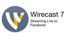 Wirecast Tutorial - Streaming Live to Facebook