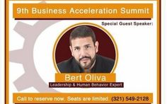 Next Month: Starting May 18th through 5/20 - The 9th Business Acceleration Summit is Near!