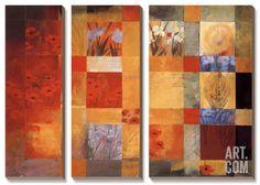 42 Views of My Garden Canvas Art Set by Don Li-Leger at Art.com