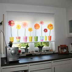 Blinds Design, Window Blinds, Roller Blinds, Printing On Fabric, Kitchen Decor, Fabrics, Living Room, Printed, Home Decor