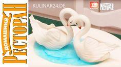 Украшение свадебного торта «Лебеди» - Kulinar24TV