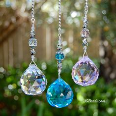 Prism crystal ceiling fan light pulls uniquely designed for strength. Simply attach to existing chain pull and enjoy the sparkle! Ceiling Fan Pulls, Crystal Ceiling Light, Wire Tree Sculpture, Diy Wind Chimes, Light Pull, Pull Chain, Flower Pots, Flowers, Crystals And Gemstones