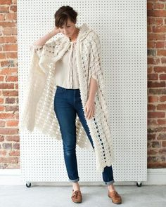 The Vintage Victorian Cape is a captivating, intermediate skill crochet pattern. This pattern offers three different lengths to suit anyone; Short, Medium and Long. This pattern uses mostly basic croc