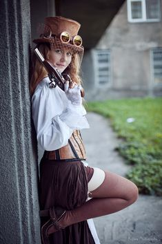 steampunk fashion KinslayeR13