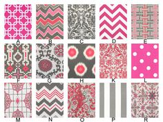 Custom Crib Baby Bedding YOU DESIGN  Flamingo in by RockyTopDesign, $238.00