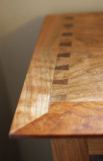 Dovetails Shown in Top