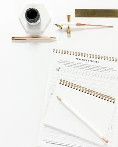 Advice for Beginning Calligraphers #moderncalligraphy #learncalligraphy #calligraphydrills #calligraphy #calligraphyworkshop #beginnercalligraphy #surelysimplelettering #lettering #letteringwithpositivity