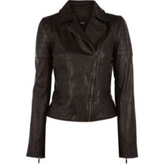 Saving this as part of my search for the perfect leather jacket.