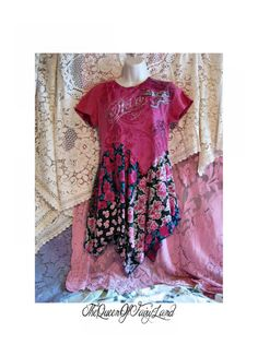 REDUCED Tunic Altered Couture Eclectic Bohemian Junk