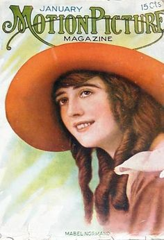 Silent Movie Magazine - Motion Picture Magazine - January 1916 - Mabel Normand