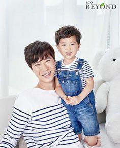 Go Sung-jae , Go Ji-yong (Sechskies) Superman Cast, Superman Kids, Powerpuff Girls Wallpaper, Korean Babies, Sungjae, Jiyong, Everything Baby, First Baby, Bebe