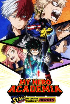 Learn About My Hero Academia at Funimation