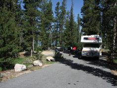 Outlet Campground is located next to beautiful Redfish Lake beneath the Sawtooth…