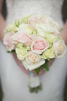 Roses (Magnolia Flower Gallery) - Outdoor Wedding in Calgary from Nicole Sarah Photography Bride Bouquets, Bridesmaid Bouquet, Ivory Rose Bouquet, Sarah Photography, Art Gallery Wedding, Lace Mermaid Wedding Dress, Wedding Dresses, Wedding Photo Inspiration, Brides And Bridesmaids