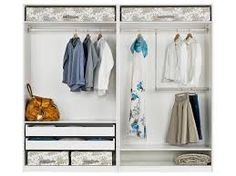 Image result for pax organizing system for inside closet and tips