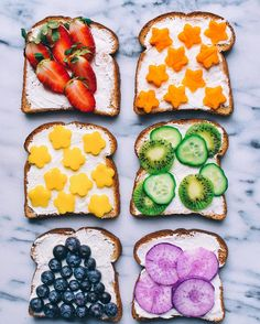 """16.1k Likes, 289 Comments - Nisha / Vegan / NYC (@rainbowplantlife) on Instagram: """"I have some rainbow toasts for you  Which one would you pick?Headed to the Grand Canyon today and…"""""""