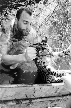 Operation Gwamba - Animal rescue in Suriname, 1964. Hosted by Google. Photo Stan Wayman LIFE. Klik voor mijn Pinterest bord: ´Operation Gwamba`