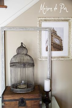 how to paint a frame to give it an authentic antique look | maisondepax.com