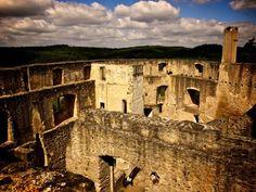 Landstejn, castle from tower