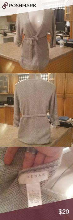 Kenar Tan Sweater Cardigan L Like New Condition Kenar Tan Sweater Cardigan in Size Large. Retails $59.00 Kenar Sweaters Cardigans
