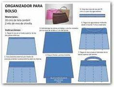 Bolsos y monederos on pinterest purses bags and zipper - Organizador de carteras ...
