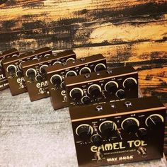 Great news from @way.huge.electronics: Here they come... #wayhuge #wayhugeelectronics #wayhugepedals #jimdunlop #jimdunlopusa #dunlop #effectpedals #guitarpedals #pedals #tone #guitartone #effectpedal #stompbox #effect #stompboxes #guitar #electricguitar #camel #cameltoe #cameltoeoverdrive #overdrivepedal #overdrive #gearfest #gearfest2016 #picoftheday #gear @jimdunlopusa
