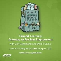 Learn how the flipped classroom model can help teachers gain more face-to-face time with students, foster real differentiated or personalized learning, and challenge students to take responsibility for their learning.