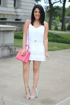 A Love Affair With Fashion : White On White