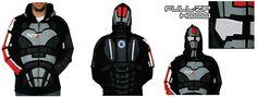 Commander Shepard (Mass Effect) Full Zip Hoody
