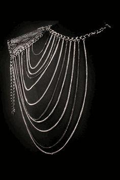 Body #Jewelry - Body #Chain - Wildly Sinful Shoulder #BodyChain