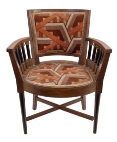 Cubist armchair | Aukce obrazů, starožitností | Aukční dům Sýpka