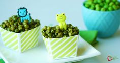 Crunchy Roasted Green Peas