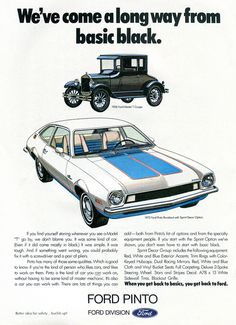 1972 Ford Pinto Advertisement Car Craft Magazine June 1972 | Flickr - Photo Sharing!