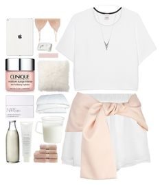 """there's nothing quite wrong but it don't feel right."" by dont-go-to-sleep ❤ liked on Polyvore featuring Pottery Barn, Pinko, Prabal Gurung, Retrò, Clinique, NARS Cosmetics, Fresh, Crate and Barrel, Kinto and Dunhill"