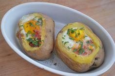 Patatas asadas rellenas - Recetasderechupete.com