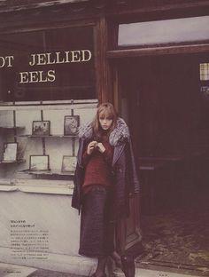 """East Side Story"", Rosie Tapner photographed by Guy Aroch in Numero Tokyo #69"