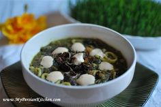 Asheh Reshteh is a delicious hearty soup that is part of the Norouz menu. Reshteh in Farsi means noodles. This soup is made with Persian noodles which are flat, ... Read More