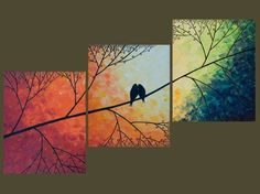 canvas tree painting @Christin Elson this one should be your next paintin to be the 3 in the kitchen