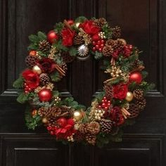 luxury christmas wreath - Google Search