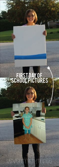First Day of School Pictures - seven thirty three