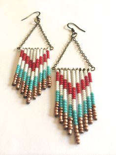 Hey, I found this really awesome Etsy listing at https://www.etsy.com/listing/202672902/fringe-seed-bead-earrings