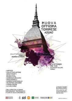 Poster I made for HulaHoop Gallery Torino.Tools: Photoshop + indesign  Poster art