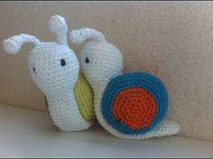 Amigurumi escargot crochet/ amigurumi caracoles crochet