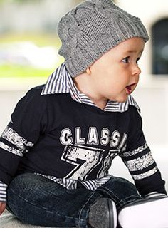 baby boy outfit. So cute!