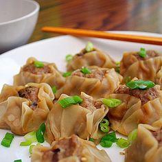 shumai dumplings recipe | Pork, Ginger & Mushroom Shumai Dumplings Recipe - ZipList