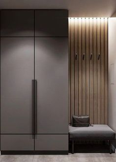 Possible combination of colours for concealed bomb shelter wall Home Room Design, Home Interior Design, Living Room Designs, House Design, Wardrobe Room, Wardrobe Design Bedroom, Wardrobe Storage, Apartment Interior, Apartment Design