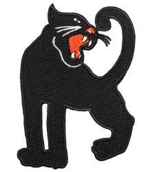 Mini Rodini Embroidery Patch PANTHER