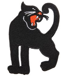 Mini Rodini Embroidery Patch PANTHER